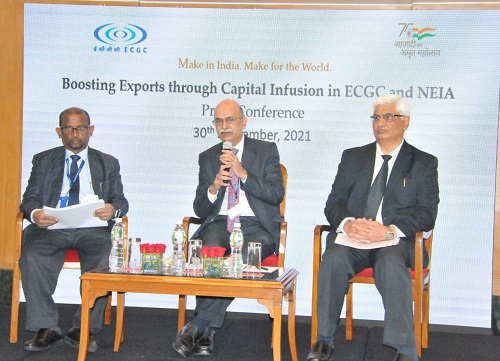 ECGC assures exporters to provide cost-effective credit insurance cover