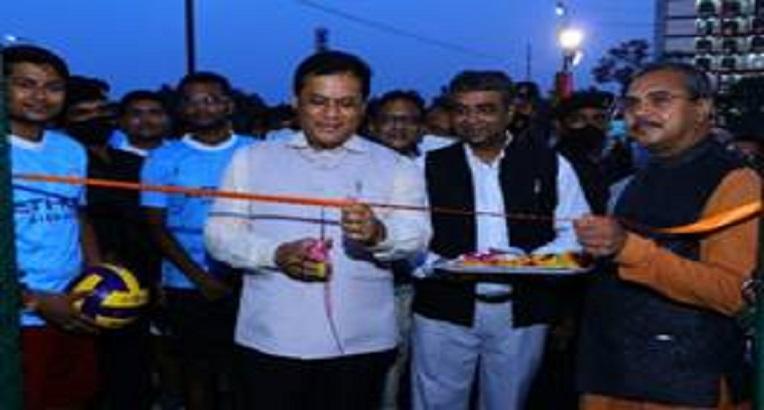 AYUSH Minister Sarbananda Sonowal inaugurates Girls' Hostel and Playgrounds at National Institute of Homeopathy, Kolkata